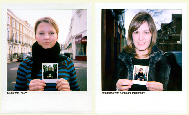 Stasia from Poland and Magdalena from Serbia